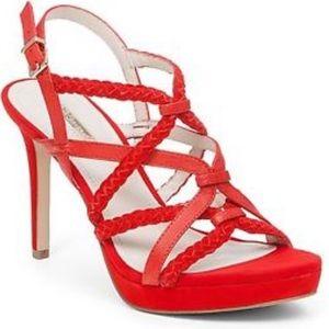 BCBG High Heel in Red. Sz 10. EUC Only worn 1x!
